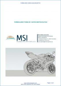 FORMULARIO MOTOS