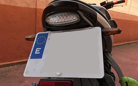 Reforma Matricula Moto