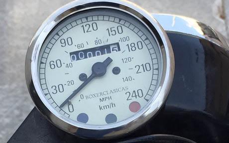 homologar reforma velocimetro moto
